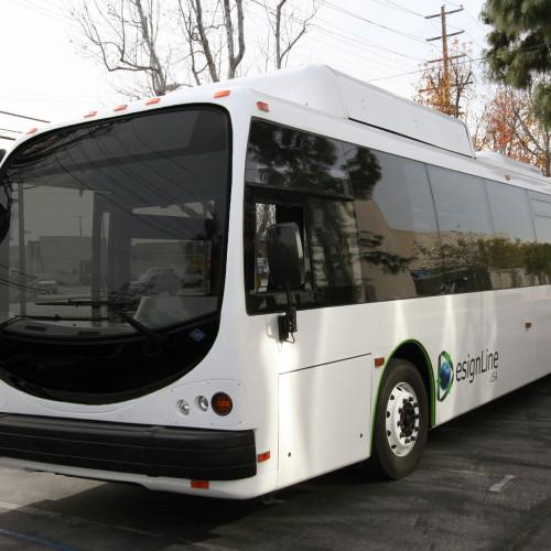 Bio gas bus